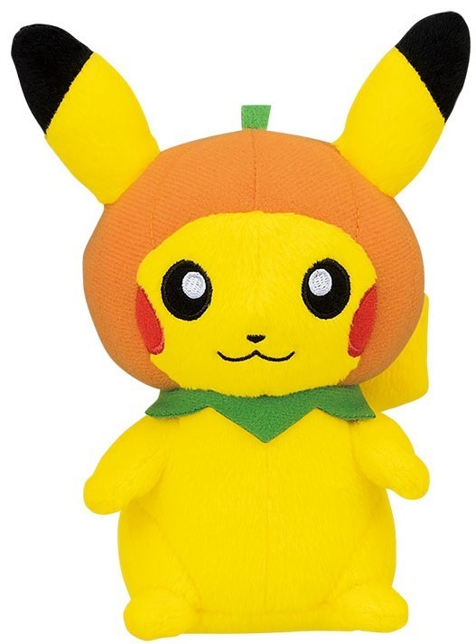 Pokemon: Halloween Pikachu (Pumpkin) - Plush