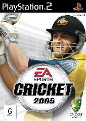 Cricket 2005 for PlayStation 2