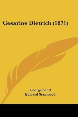 Cesarine Dietrich (1871) by George Sand image