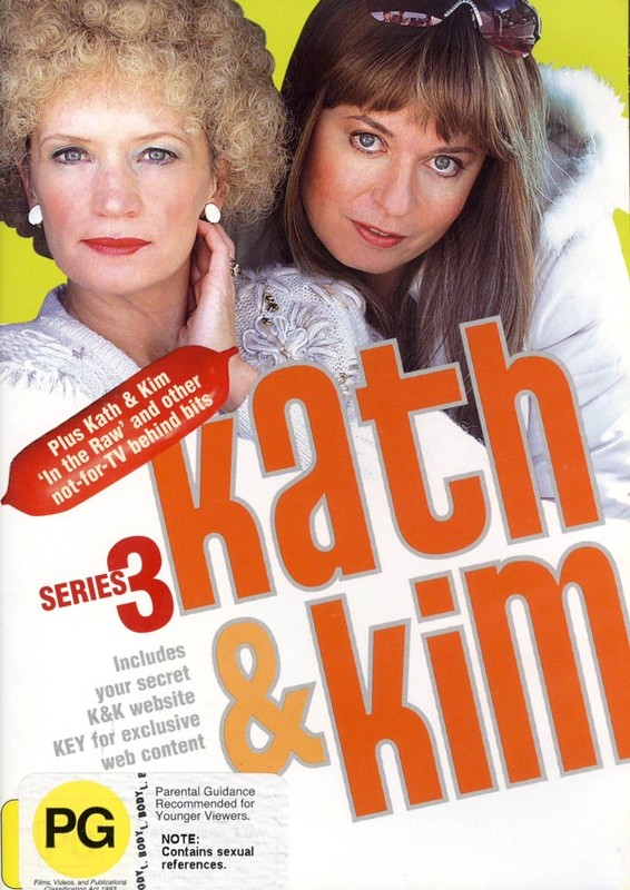 Kath & Kim - Series 3 (2 Disc Set) on DVD