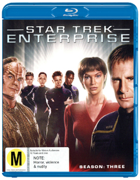 Star Trek Enterprise - The Complete Third Season on Blu-ray image