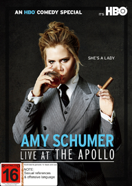 Amy Schumer: Live At The Apollo on DVD