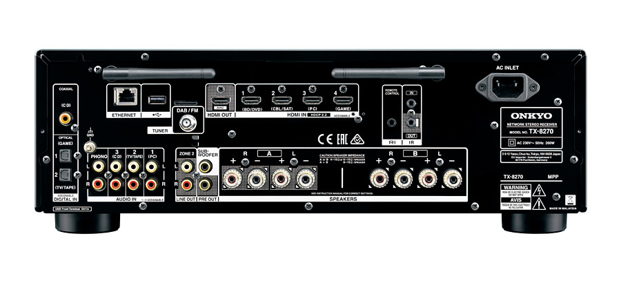 Onkyo: TX-8270 Network Stereo Receiver image