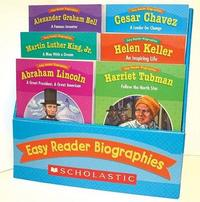 Easy Reader Biographies by Scholastic Teaching Resources
