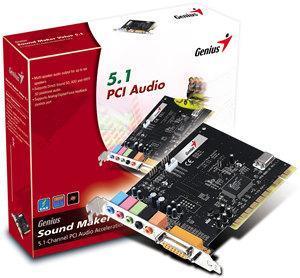 Genius Sound Maker Value 5.1 PCI Sound Card image