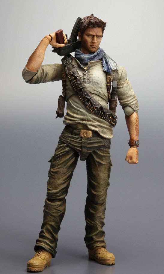 Uncharted 3 Play Arts Kai Action Figure - Nathan Drake images, Image 3 of 7