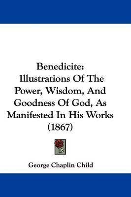 Benedicite: Illustrations Of The Power, Wisdom, And Goodness Of God, As Manifested In His Works (1867) by George Chaplin Child