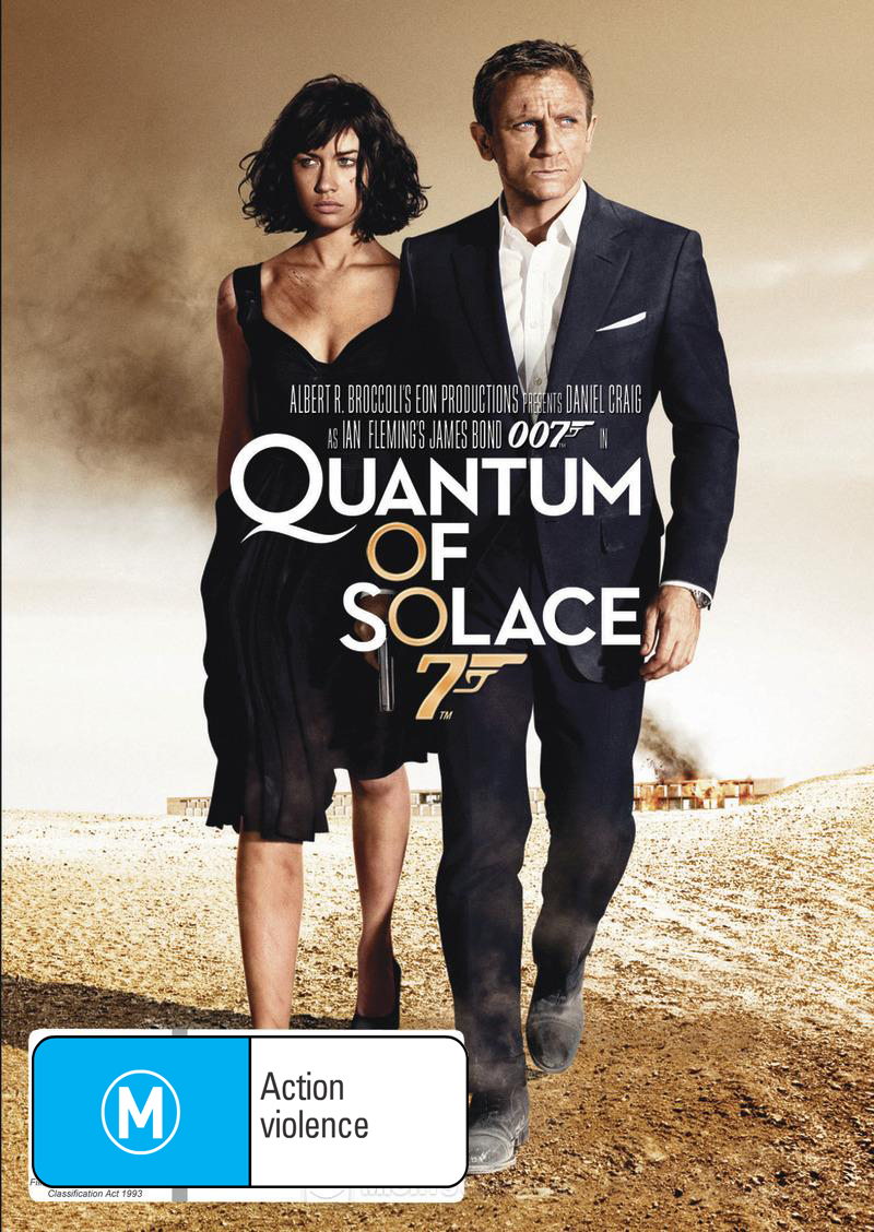Quantum of Solace (2012 Version) on DVD image