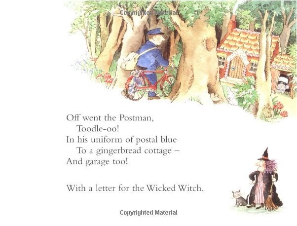 The Jolly Postman or Other People's Letters by Allan Ahlberg image