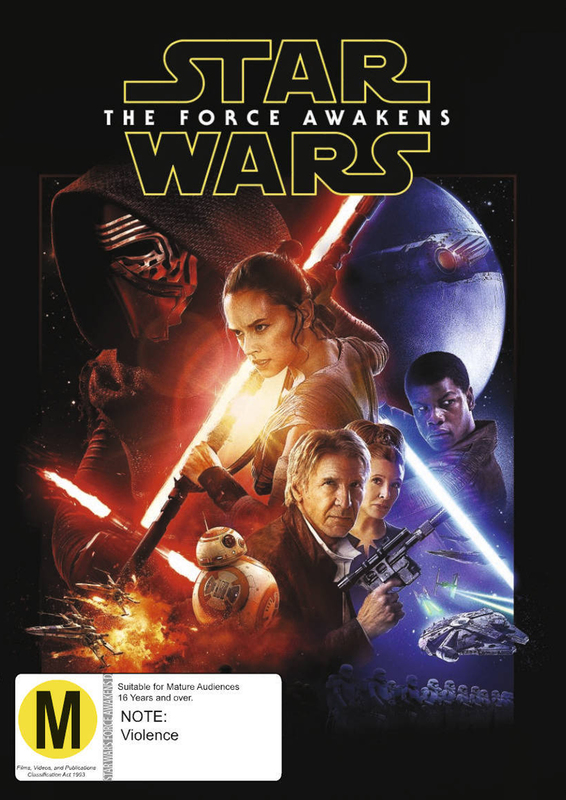 Star Wars: Episode VII - The Force Awakens on DVD
