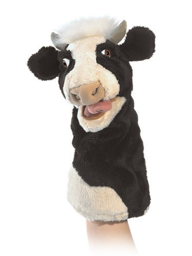 Folkmanis Hand Puppet - Stage Cow image