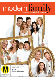 Modern Family - Season 8 on DVD