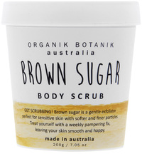 Organik Botanik Body Scrub Tub - Brown Sugar (200gm)