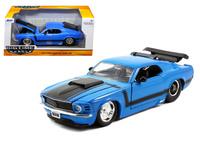 Jada: 1/24 Ford Mustang Boss 429 Hardtop (1970) - Diecast Model (Blue)