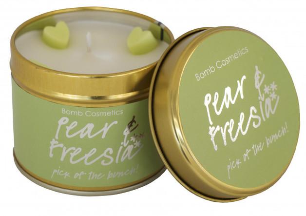 Bomb Cosmetics Candle - Pear & Freesia