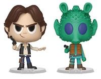 Han Solo + Greedo - Vynl. Figure 2-Pack