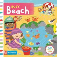Busy Beach by Campbell Books