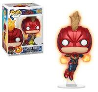 Captain Marvel: Masked (Glow) - Pop! Vinyl Figure image