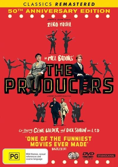 The Producers (1968) on DVD