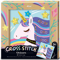 Avenir: Photo Frame Kit - Cross Stitch (Unicorn)