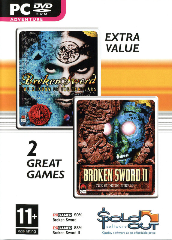 Broken Sword I & II Double Pack for PC