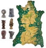 Game of Thrones Map Marker & Map Replica Set