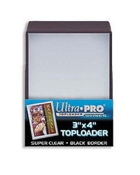 Ultra Pro: Toploaders - 3x4 Black Border