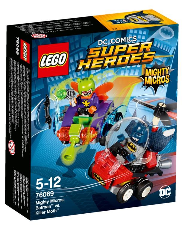 LEGO Super Heroes: Mighty Micros - Batman vs. Killer Moth (76069)