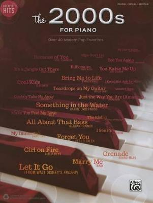 Greatest Hits -- The 2000s for Piano image