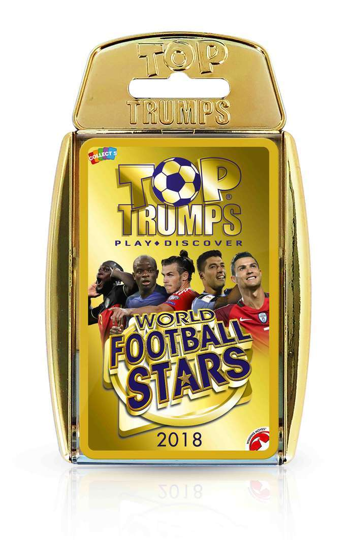 Top Trumps: World Football Stars image