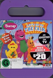 Barney - Let's Go To The Fair on DVD image