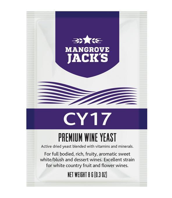 Mangrove Jacks Yeast - CY17 8g