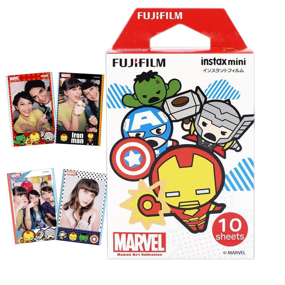Fujifilm Instax Mini Film 10 Pack - Marvel Avengers image