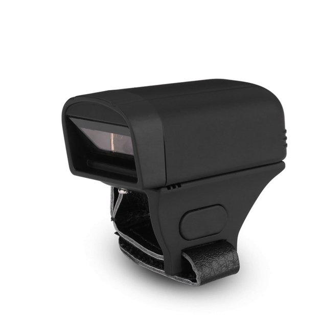One dimensional Barcode Scanner - red light