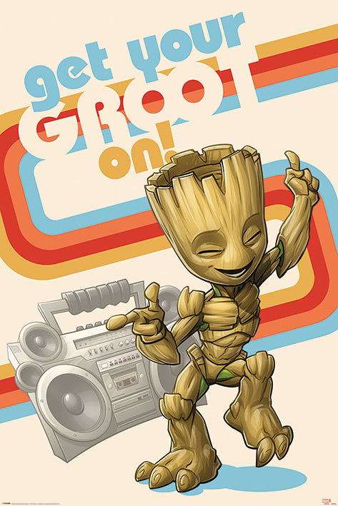 Marvel Guardians of the Galaxy: Maxi Poster - Get Your Groot On (1031) image