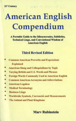 American English Compendium, 3rd Edition by Marv Rubinstein