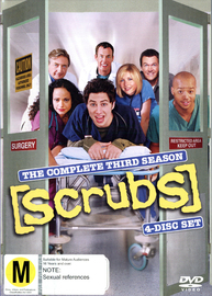 Scrubs - Season 3 on DVD image