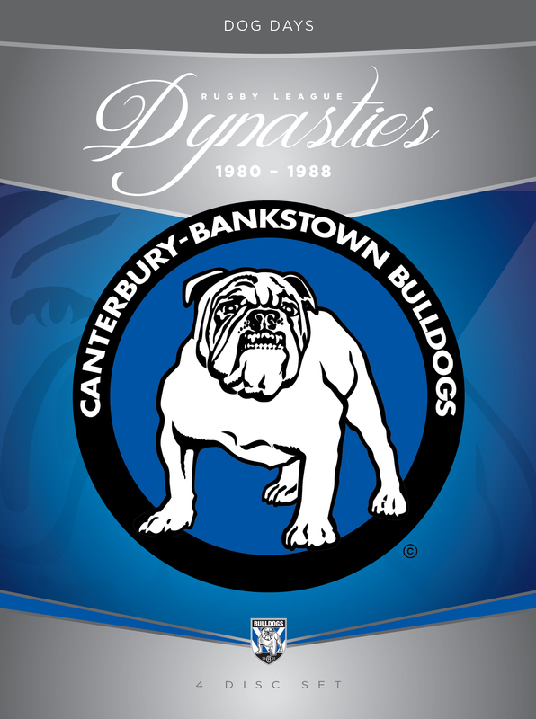 NRL Dynasties: Canterbury-Bankstown Bulldogs 1980-88 Box Set on DVD