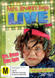 Mrs Browns' Boys Live: Mrs Brown Rides Again on DVD