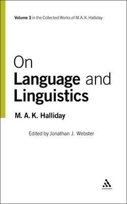 On Language by HALLIDAY image