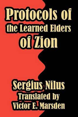 Protocols of the Learned Elders of Zion by Sergius Nilus image