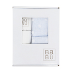 Babu: Wash & Muslin Terry Gift Box - Blue
