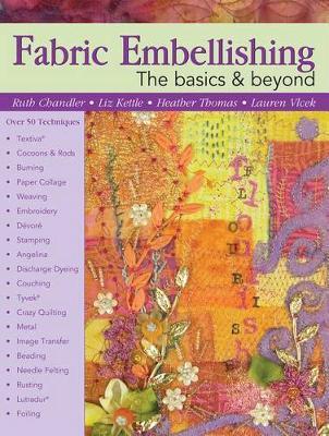 Fabric Embellishing by Ruth Chandler