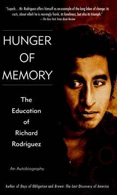 Hunger For Memory by Richard Rodriguez image