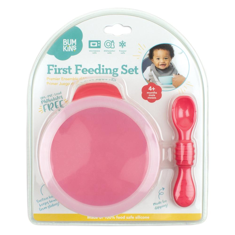 Bumkins: First Feeding Set - Red image