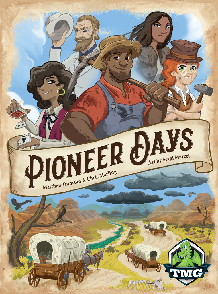 Pioneer Days - Board Game image
