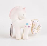 Tikiri: Rubber Teether - Cotton Candy Unicorn