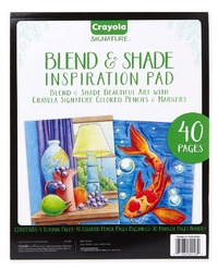 Crayola: Signature - Blend & Shade Inspiration Pad