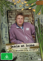 Jamie At Home - Series 2 (2 Disc Set) on DVD
