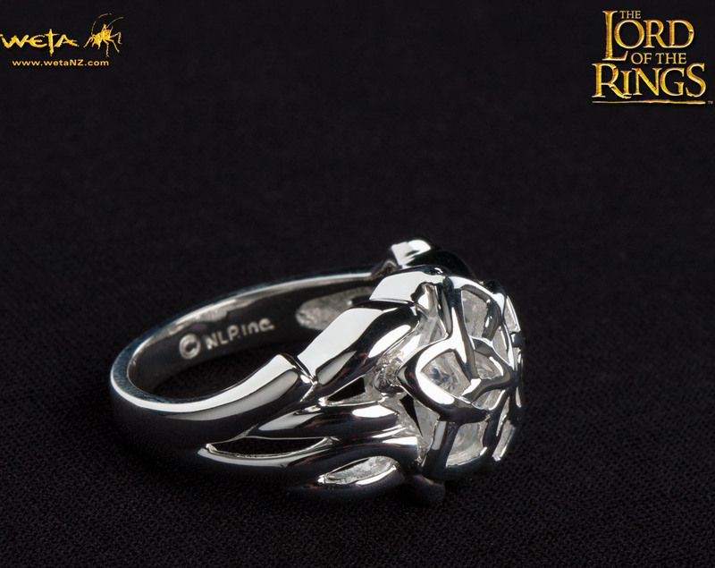 Lord of the Rings: Nenya Ring of Galadriel - Size O image